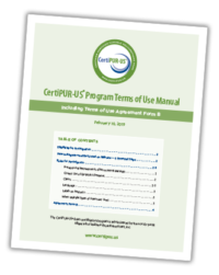 Terms of Use Manual 2019