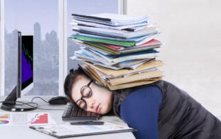 Poor Sleep, Poor Work Performance