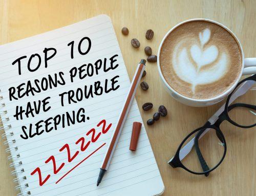 Survey Says: Top Ten Reasons People Have Trouble Sleeping